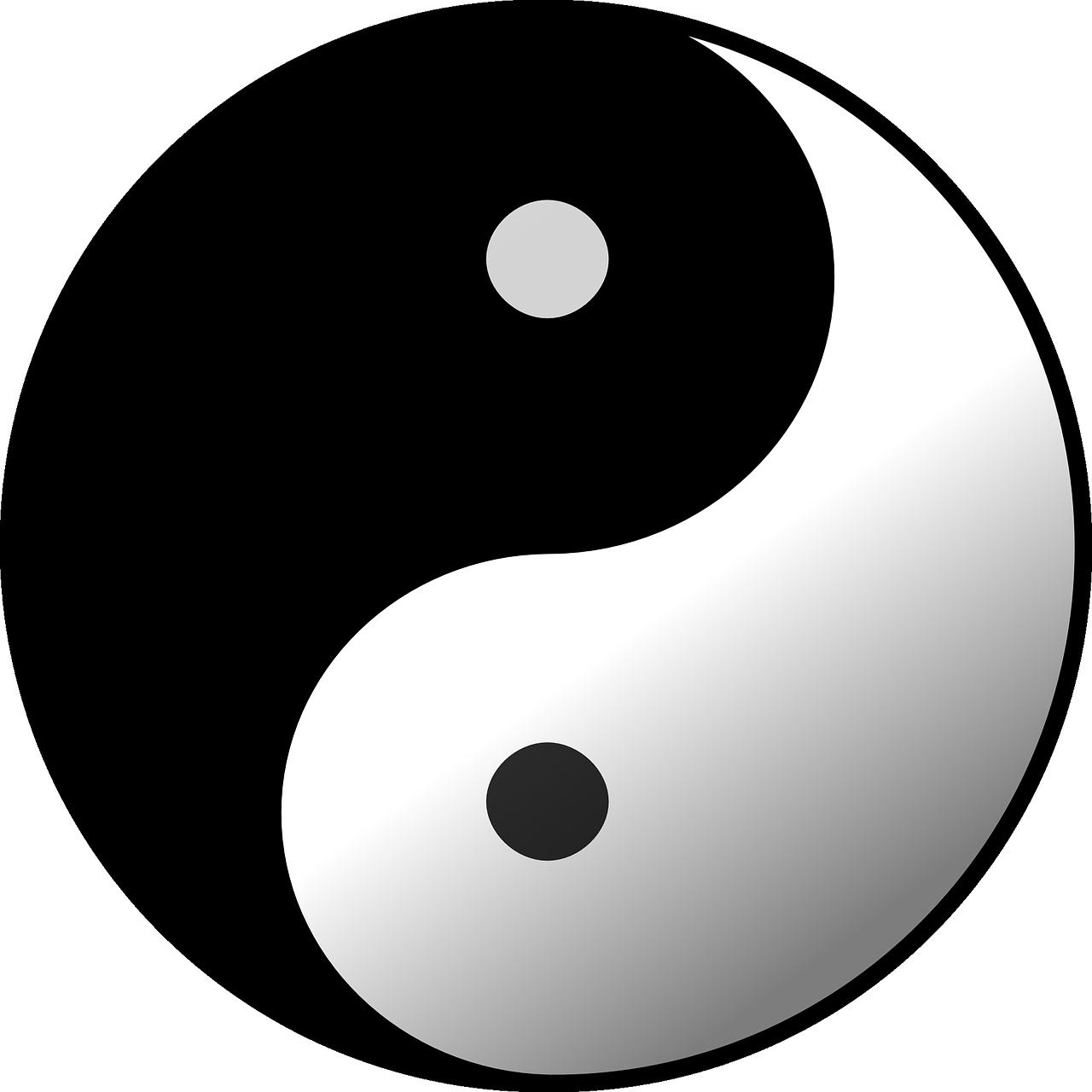 Weiblich und männlich / Yin und Yang