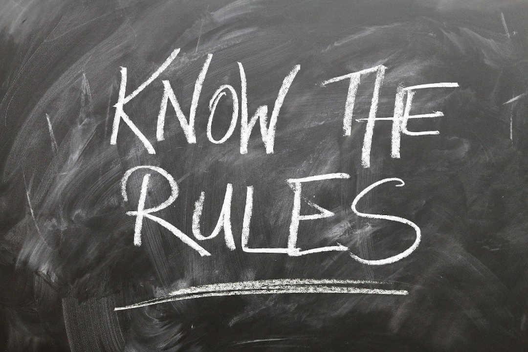 Ethik als Mann - Know the Rules - Kenne die Regeln