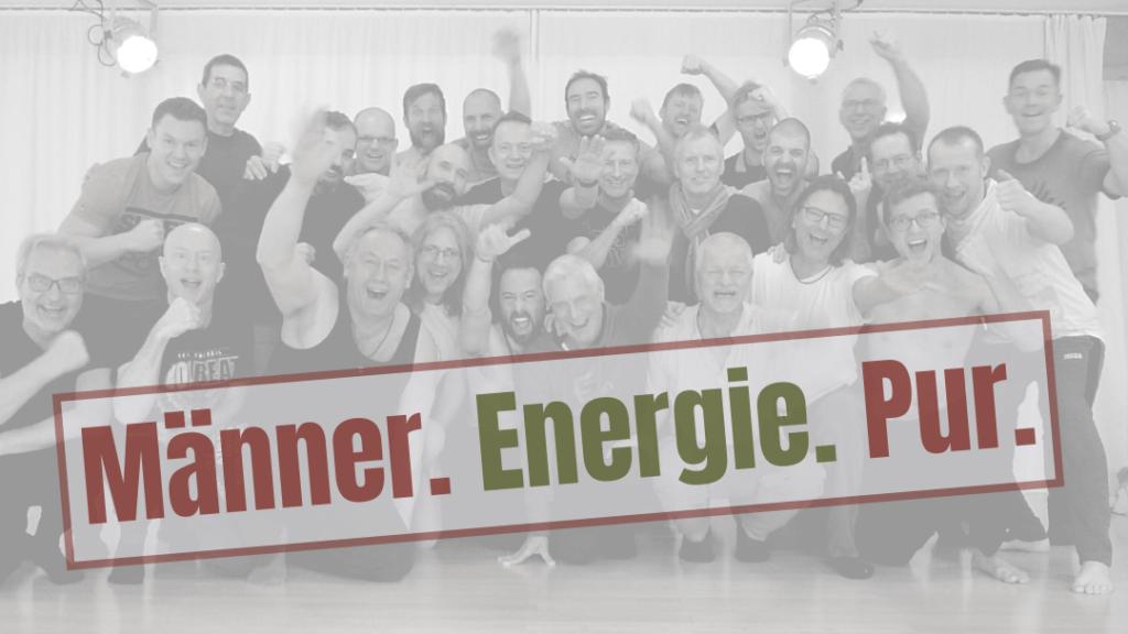 Männer. Energie. Pur. Beitragsbild Veranstaltung